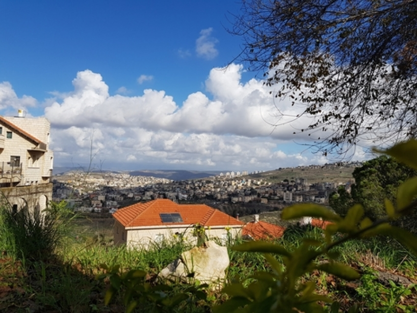 Magnificent view of the city of Nazareth - Israel
