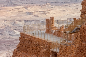 Fortress of Masada built by Herod the Great
