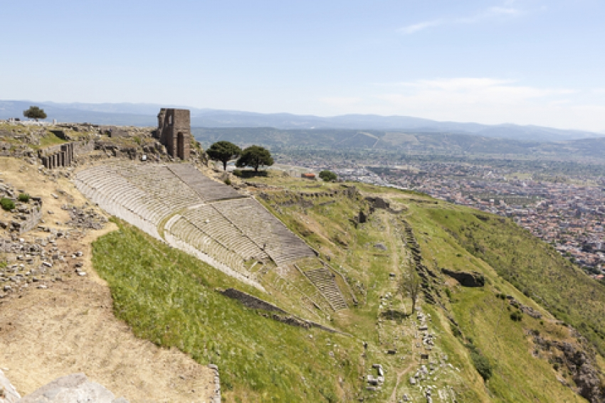Ancient theatre, Pergamum