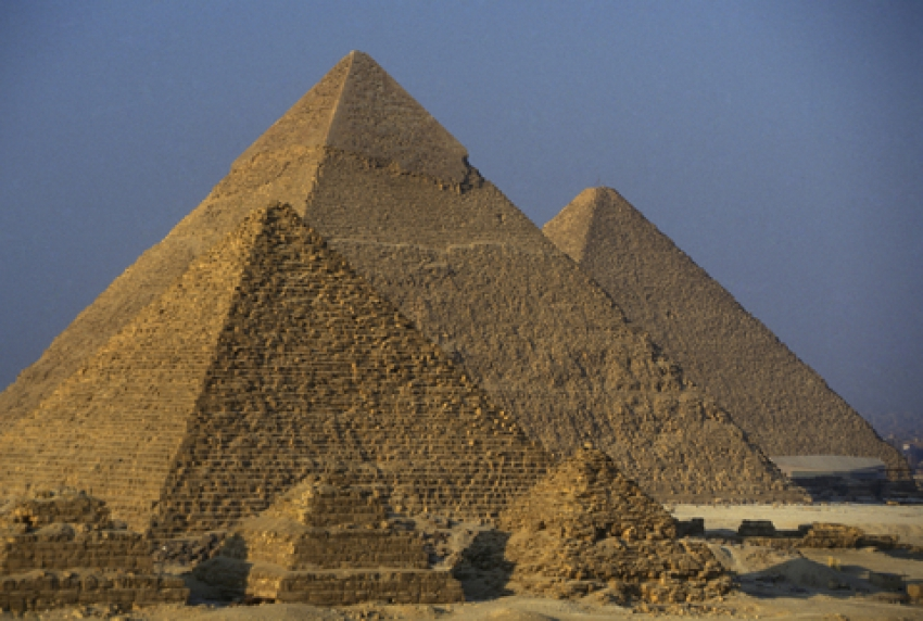 The Pyramids in Egypt Showcase Great Architectural Wonders