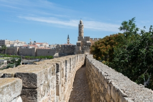 Ramparts Walk gives A Birds Eye View of the Old City of Jerusalem