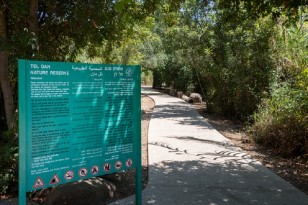 Tel Dan Nature Reserve in Northern Israel